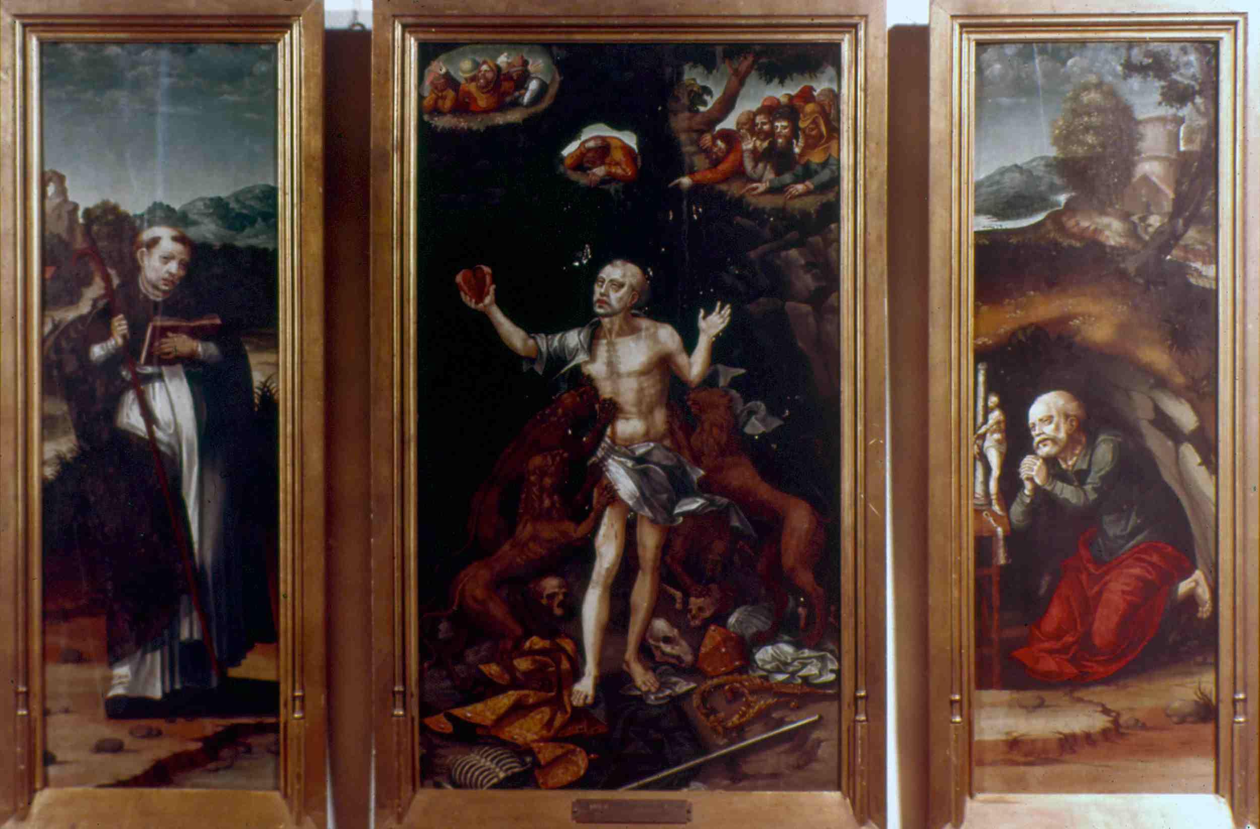 The Martyrdom of Saint Ignatius, Triptych