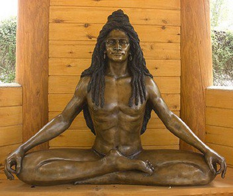 Modern-day Bronze Likeness of Baba Siri Chand