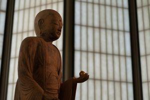 Statue of Jizo Bosatsu in a Buddhist temple.