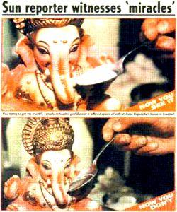 Ganesha Milk Miracle