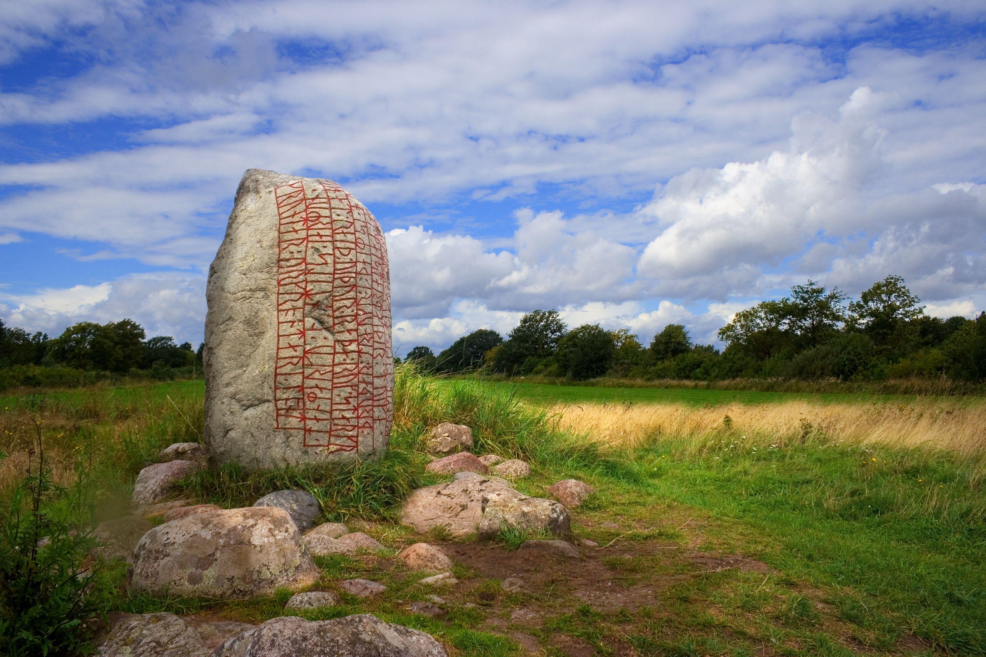 Runestone - Oland, Sweden