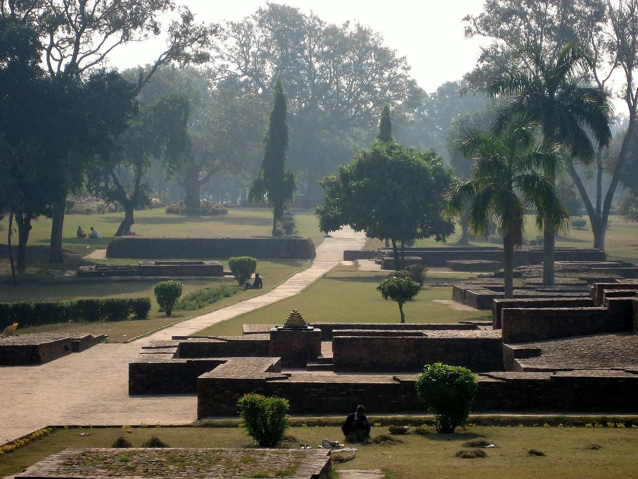 Ruins in Sravasti, India.