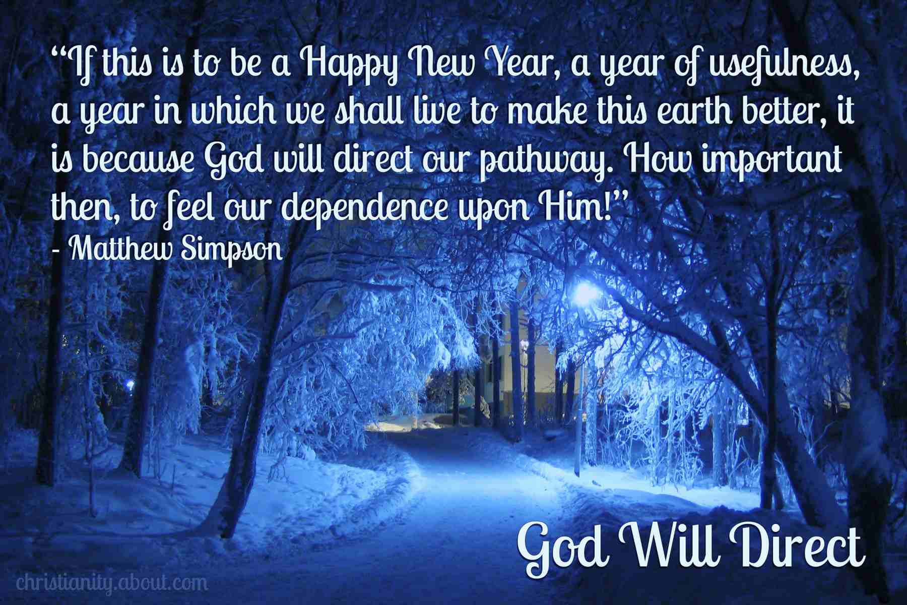 God Will Direct