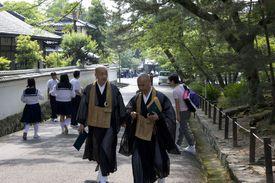 Rinzai Zen monks of Nanzenji Temple, Kyoto