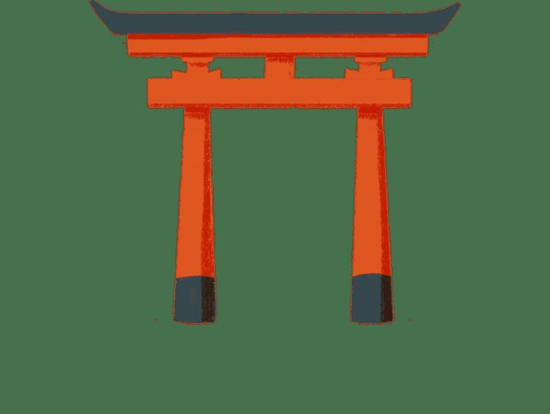 Shinto torii