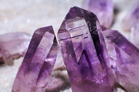 Amethyst Crystal Points