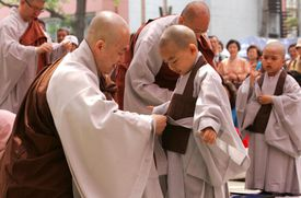 Korean Chogye Monks