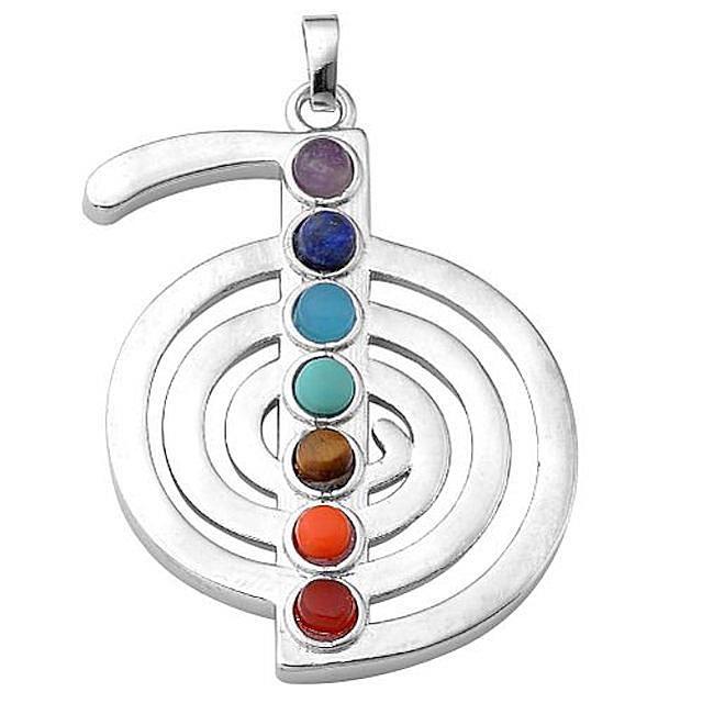 Chakra Reiki Symbol Pendant