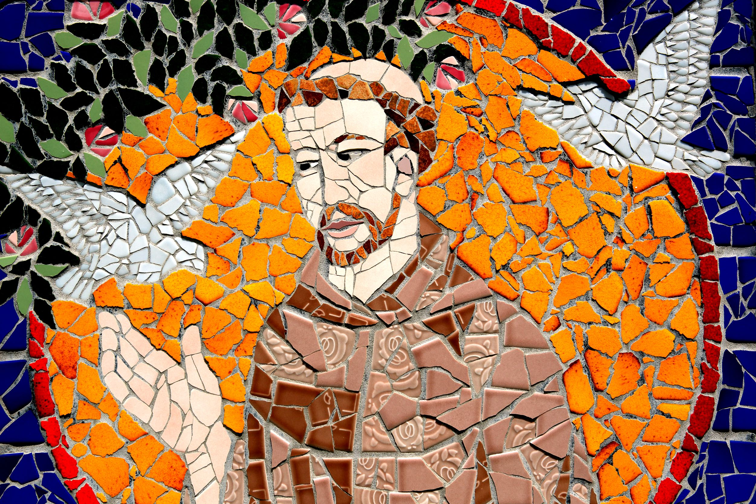 Mural of St. Francis