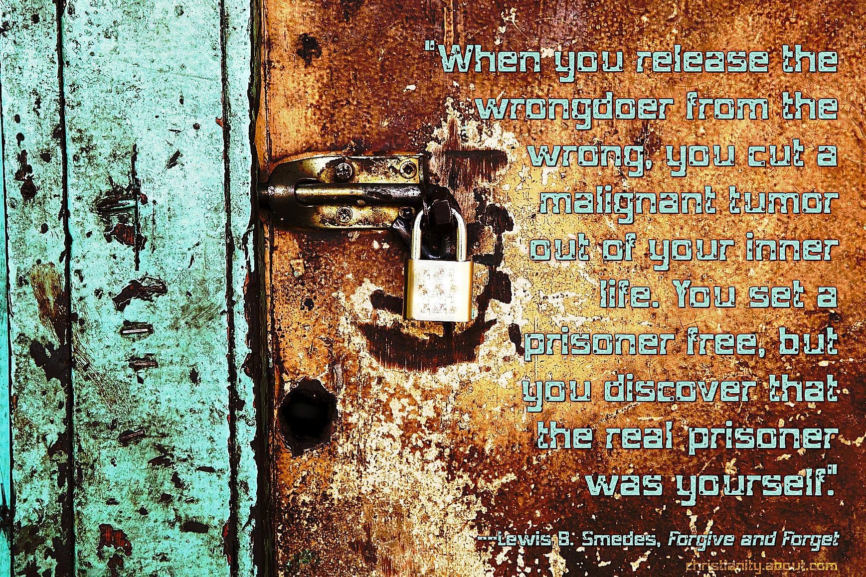 Forgiveness Sets Us Free