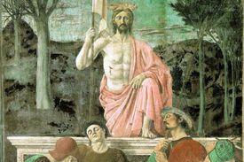 The Resurrection of Jesus Christ by Piero della Francesca (1463).