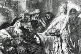 Herodias In Triumph