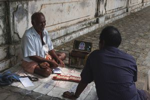 Street astrologer