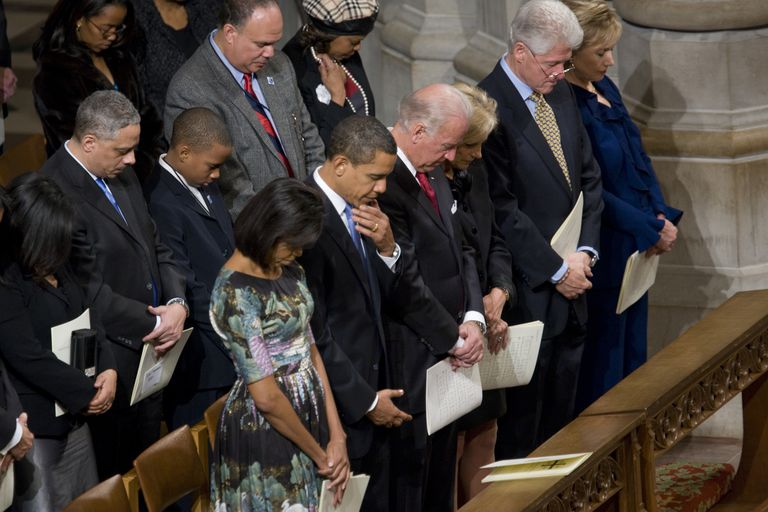 USA - Politics - President Obama Attends National Prayer Service
