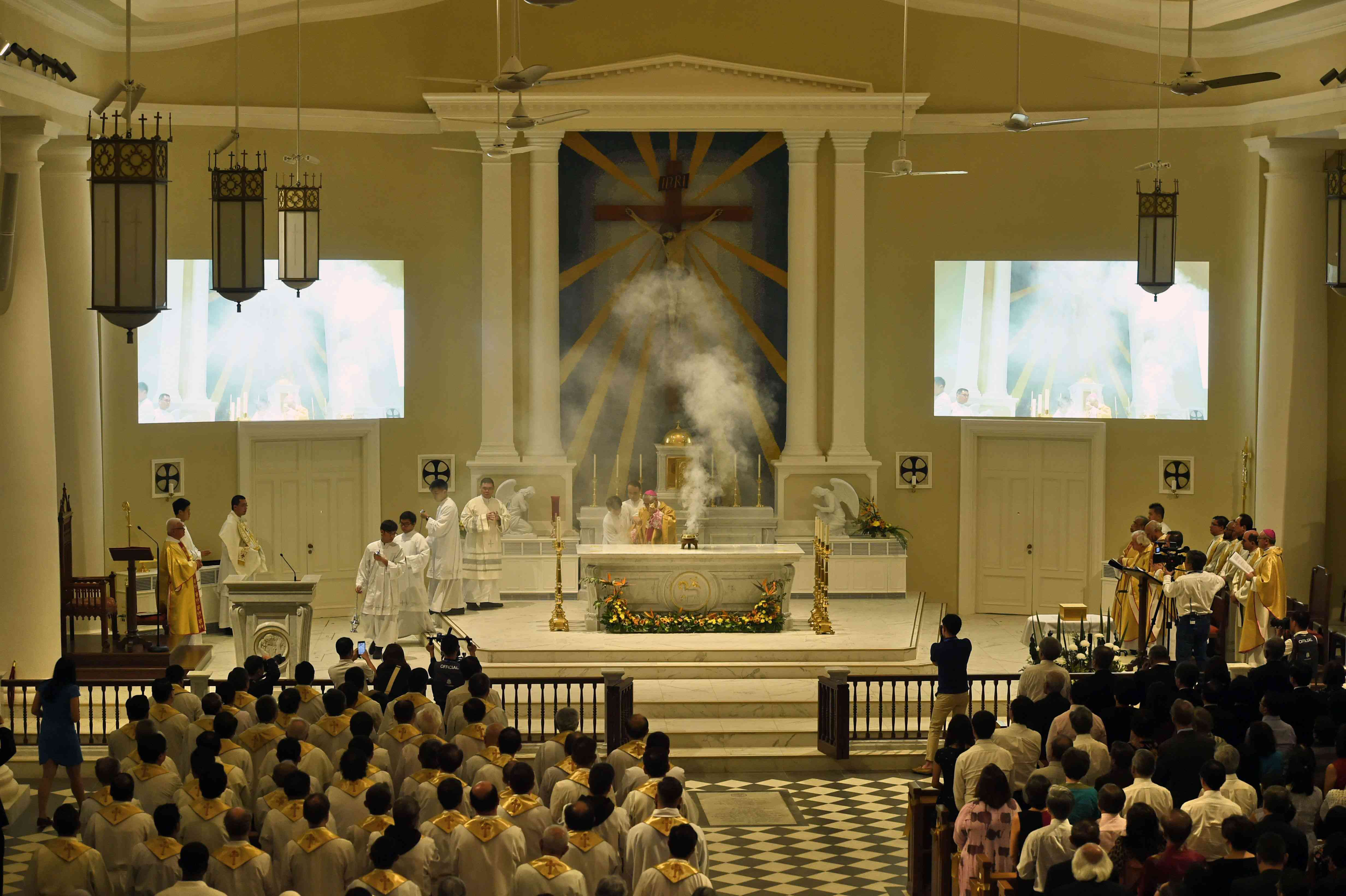 SINGAPORE RELIGION CATHOLIC CHURCH
