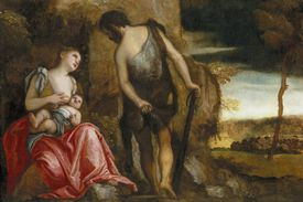 The Family of Cain Wandering by Paolo Veronese
