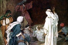 Raising Lazarus Bible Story