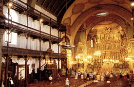 Mass at Church of St. John the Baptist, Saint-Jean-de-Luz, France