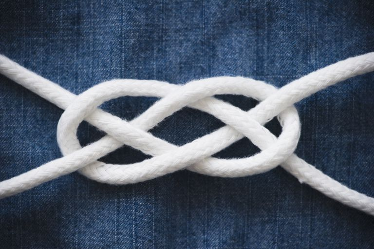 A reef knot