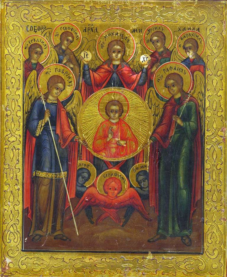 Painting of The Angelic Council