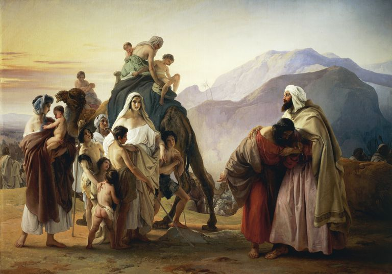 Esau forgives Jacob