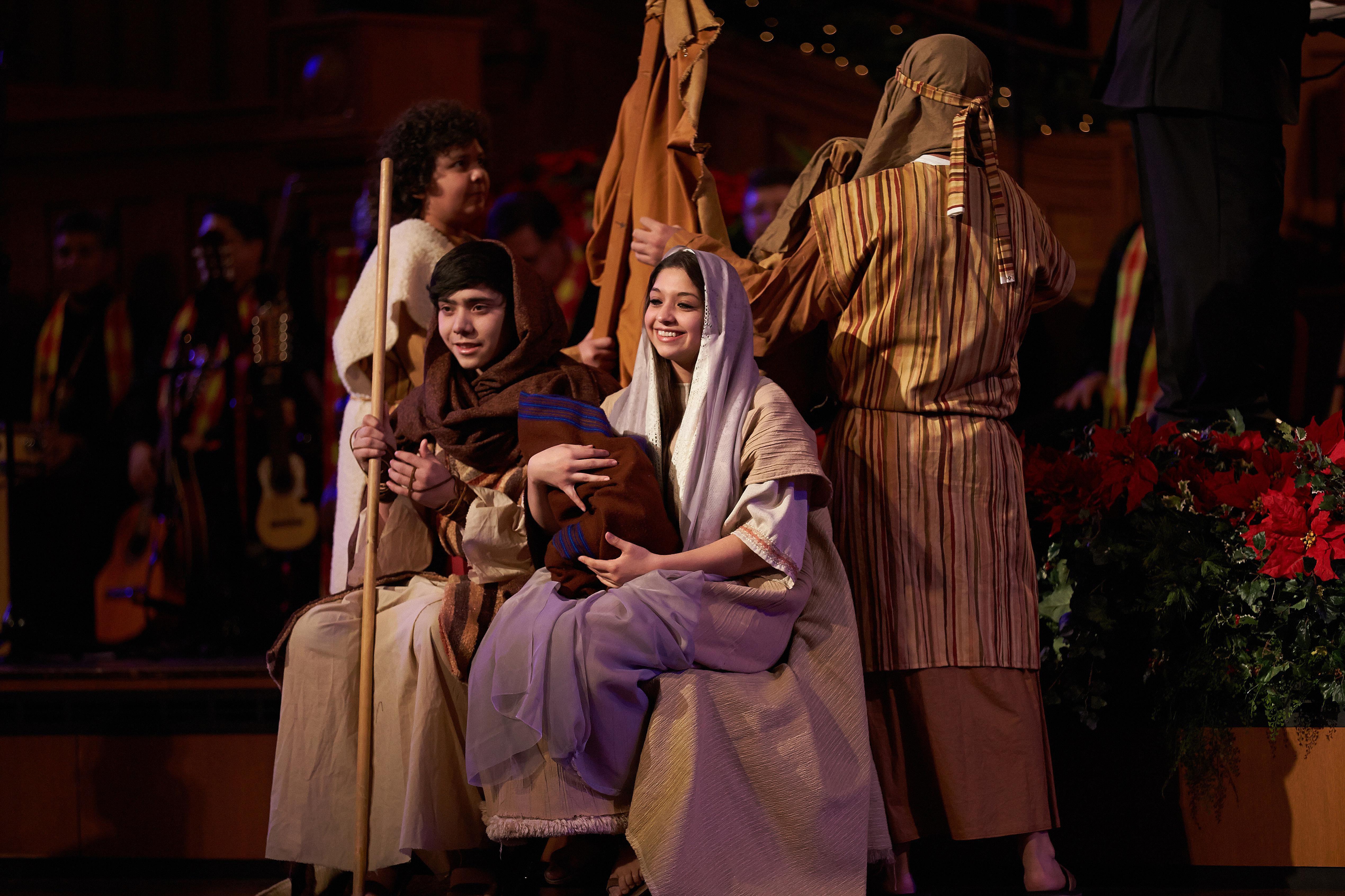 Latin live nativity
