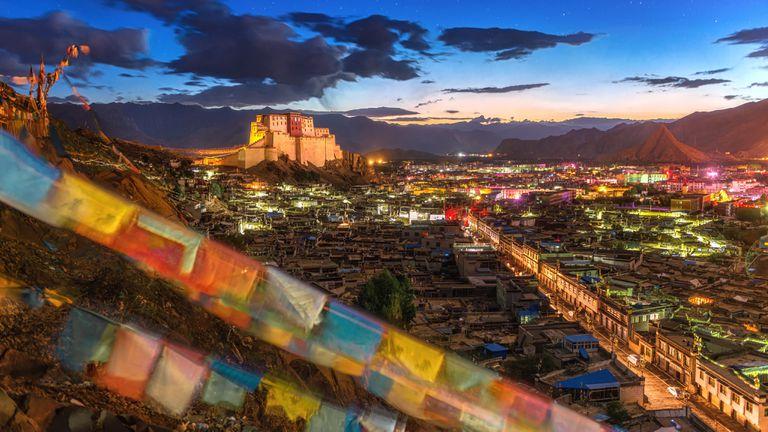 Monastery in Tibet