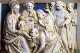 """Giovanni Della Robbi """"Adoration of the Magi"""""""