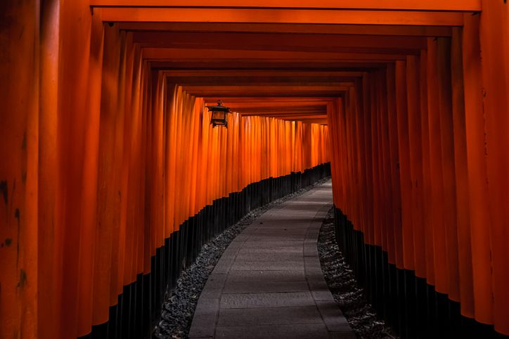 Thousand Torii Gates at Fushimi Inari Shrine