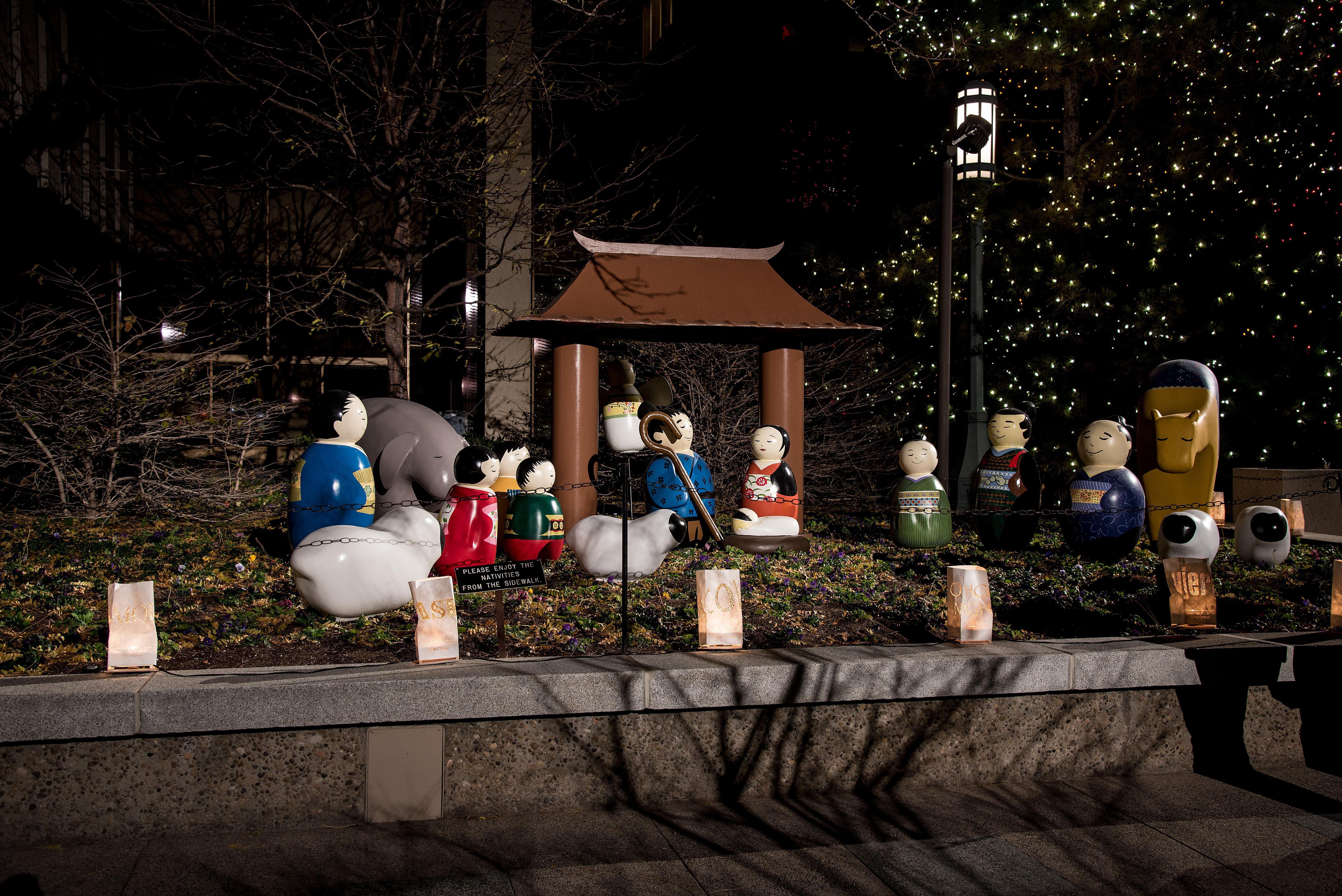 Japanese Creche nativity