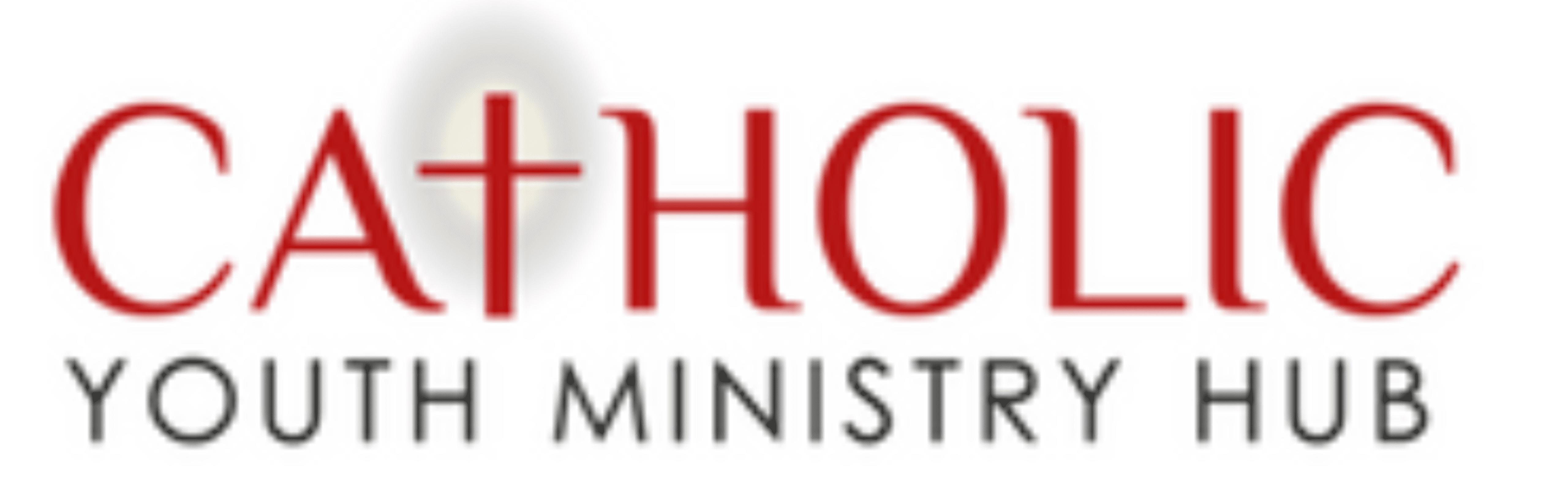 Catholic ministry website banner.