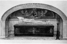 Pope Pius XI Tomb