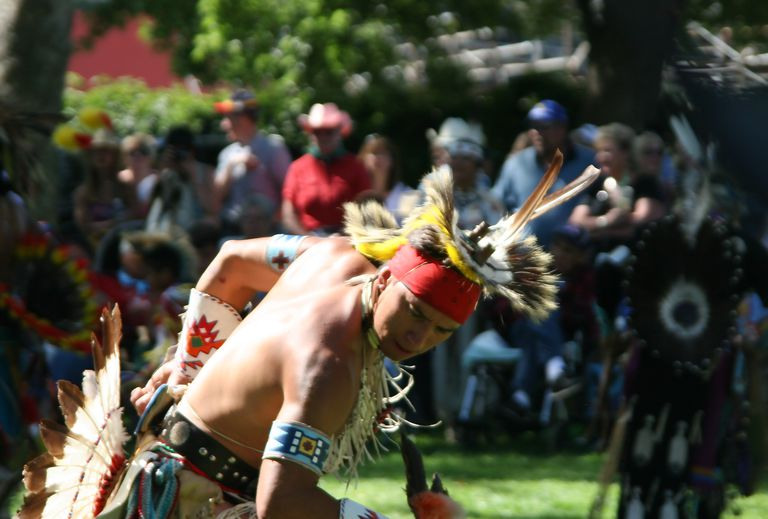 Powwow Men Dance Competition