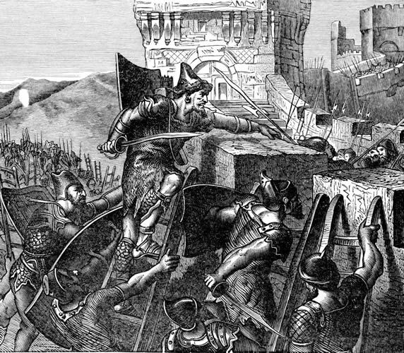 Foreign Attacks on Tyre, Lebanon: Phoenician City of Tyre was a Tempting Target for Foreign Armies