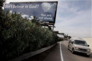 Anti-Religious Organization Posts Billboard Ad for Non-Believers