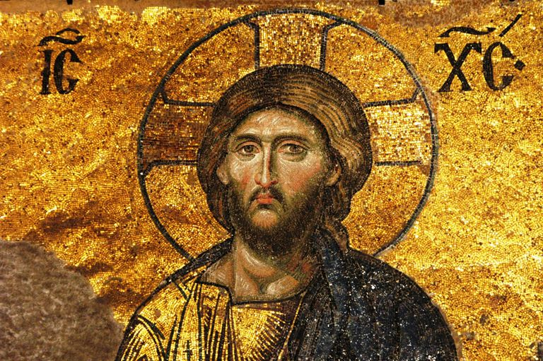 Eastern Orthodox Church History mosaic of Jesus Christ