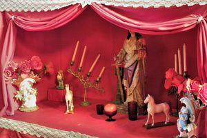 Altar to the Orisha Chango