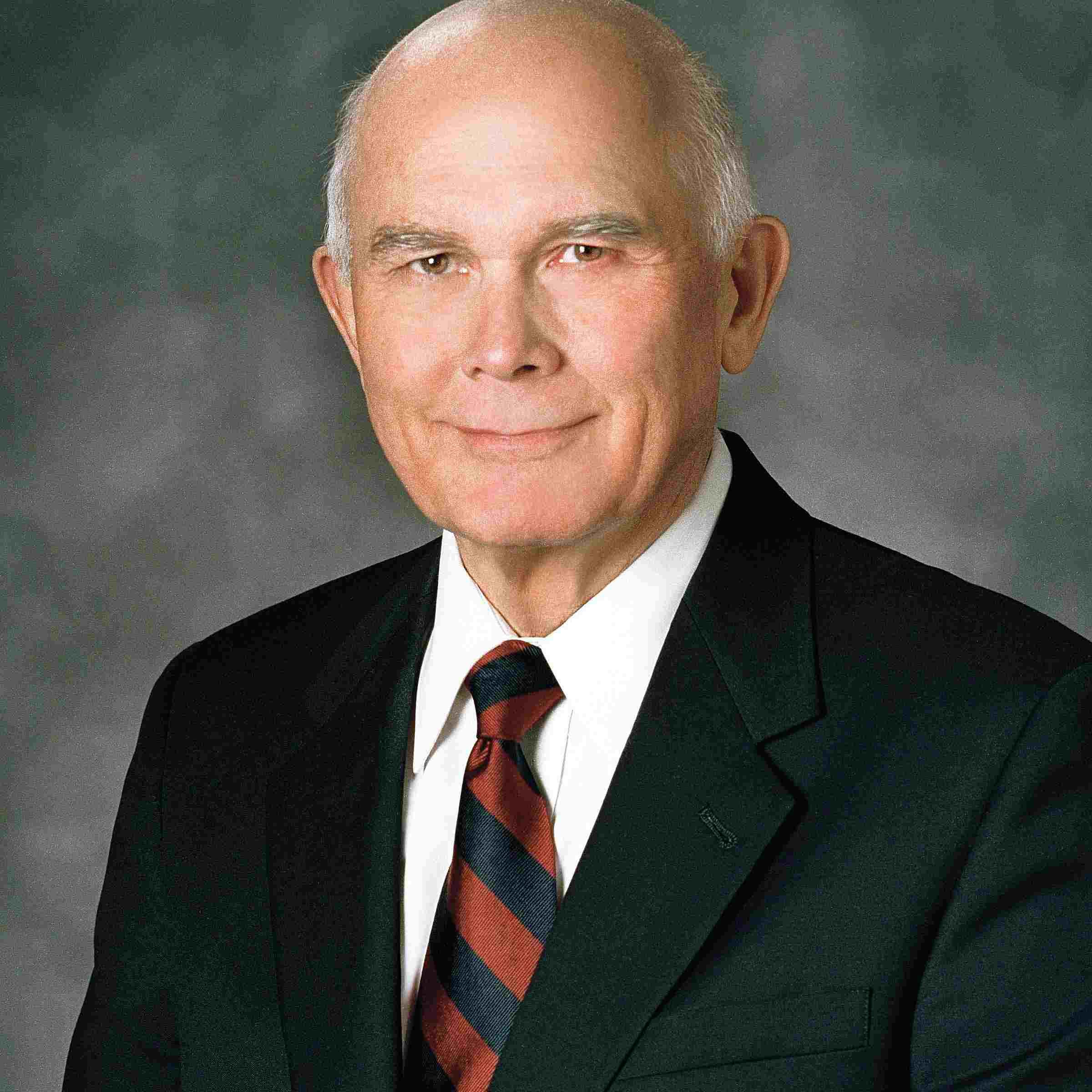 Elder Dallin H. Oaks, Quorum of the Twelve Apostles.