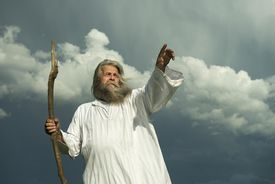 Person portraying a prophet