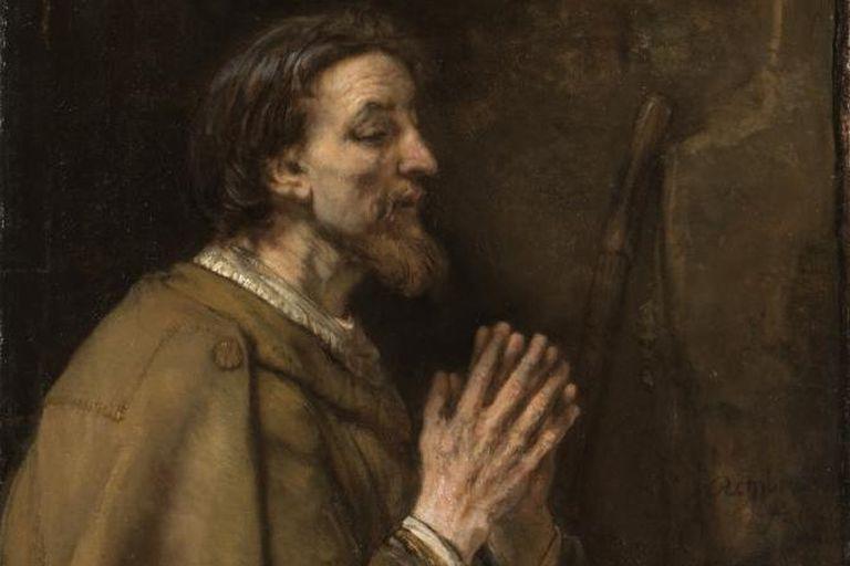 St. James the Elder by Rembrandt (1661)
