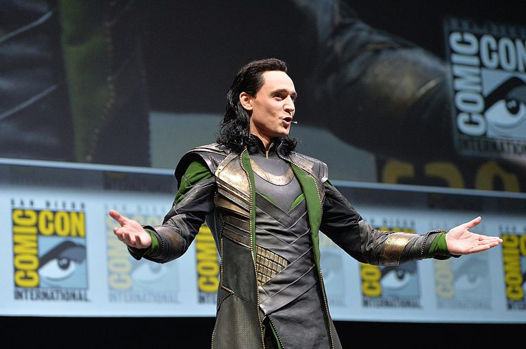 Hiddleston as Loki
