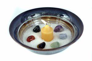 crystals angel prayer meditation