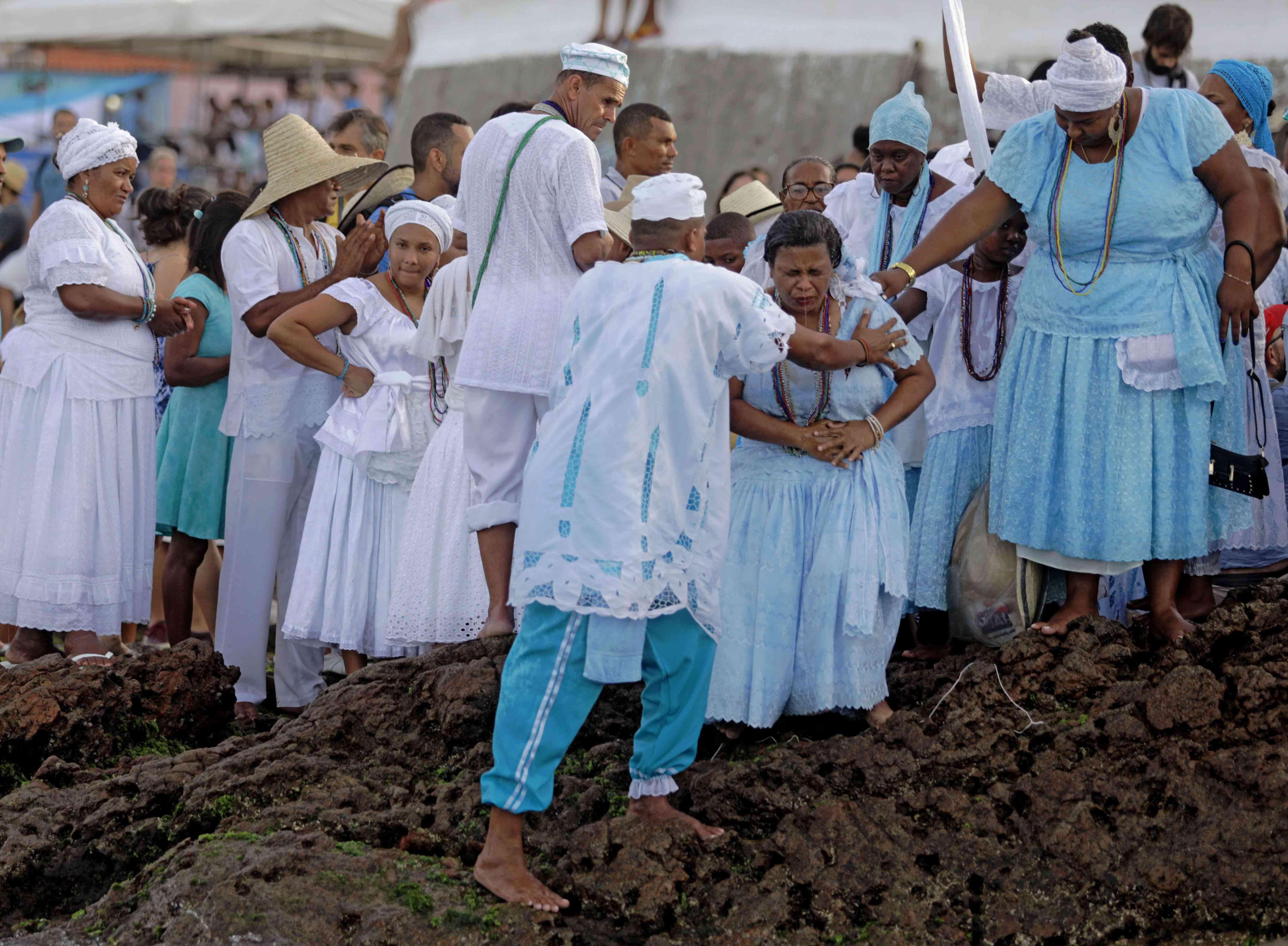 BRAZIL-RELIGION-CANDOMBLE-YEMANJA