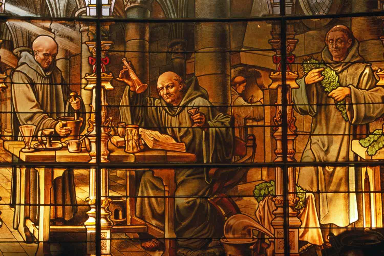 Benedictine Monks at work