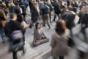 meditation woman meditating