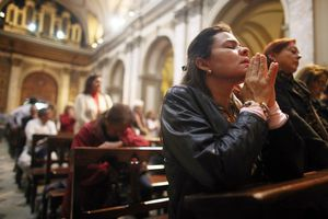Argentinians Rejoice As New Pope Celebrates First Mass At Vatican
