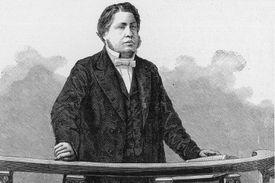 Charles Spurgeon preaching in London