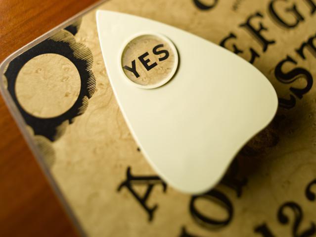 Ouija Board Saying Yes