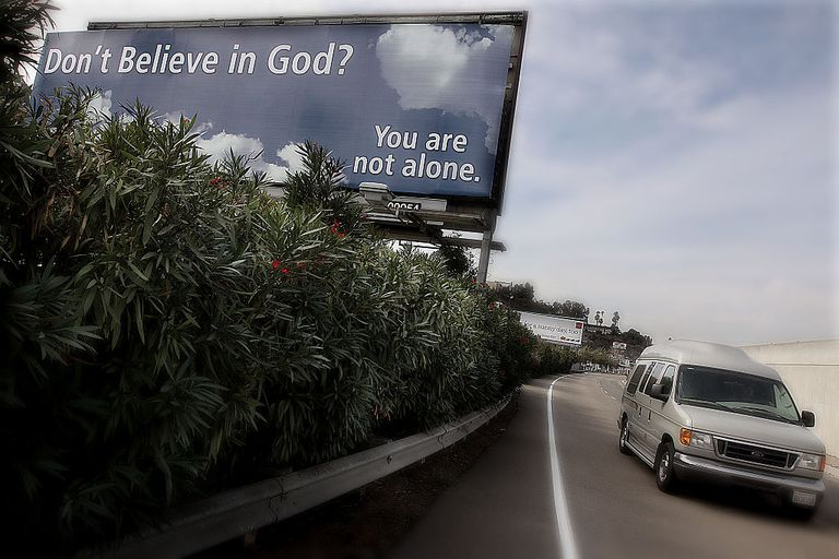Anti-Religious Organization Posts Billboard Ad for Non-Believers