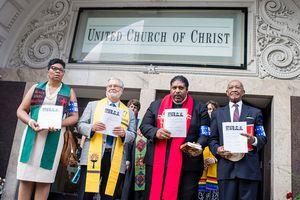 Faith leaders unite at United Church of Christ
